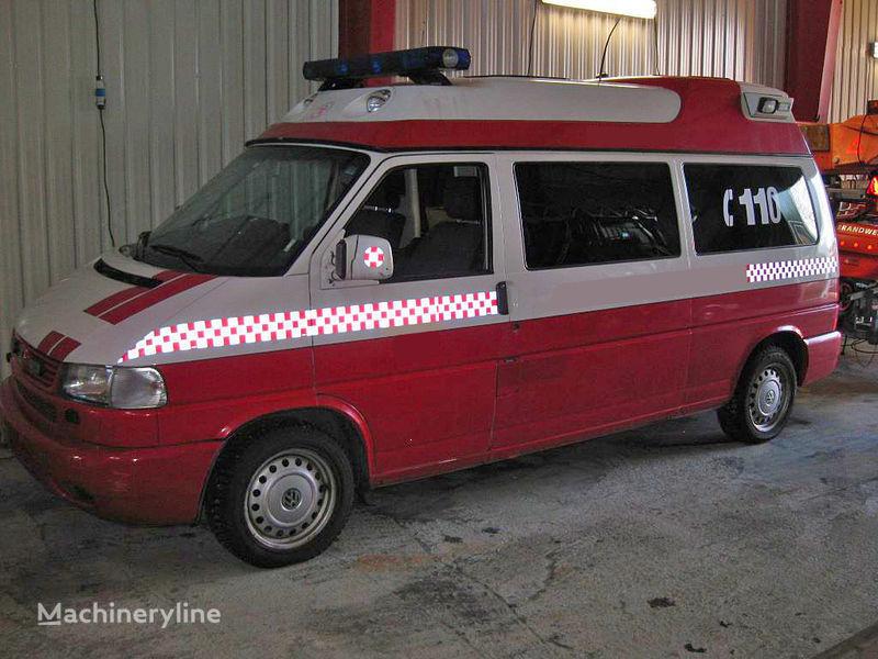 volkswagen T-4 mobile sommand vehicle