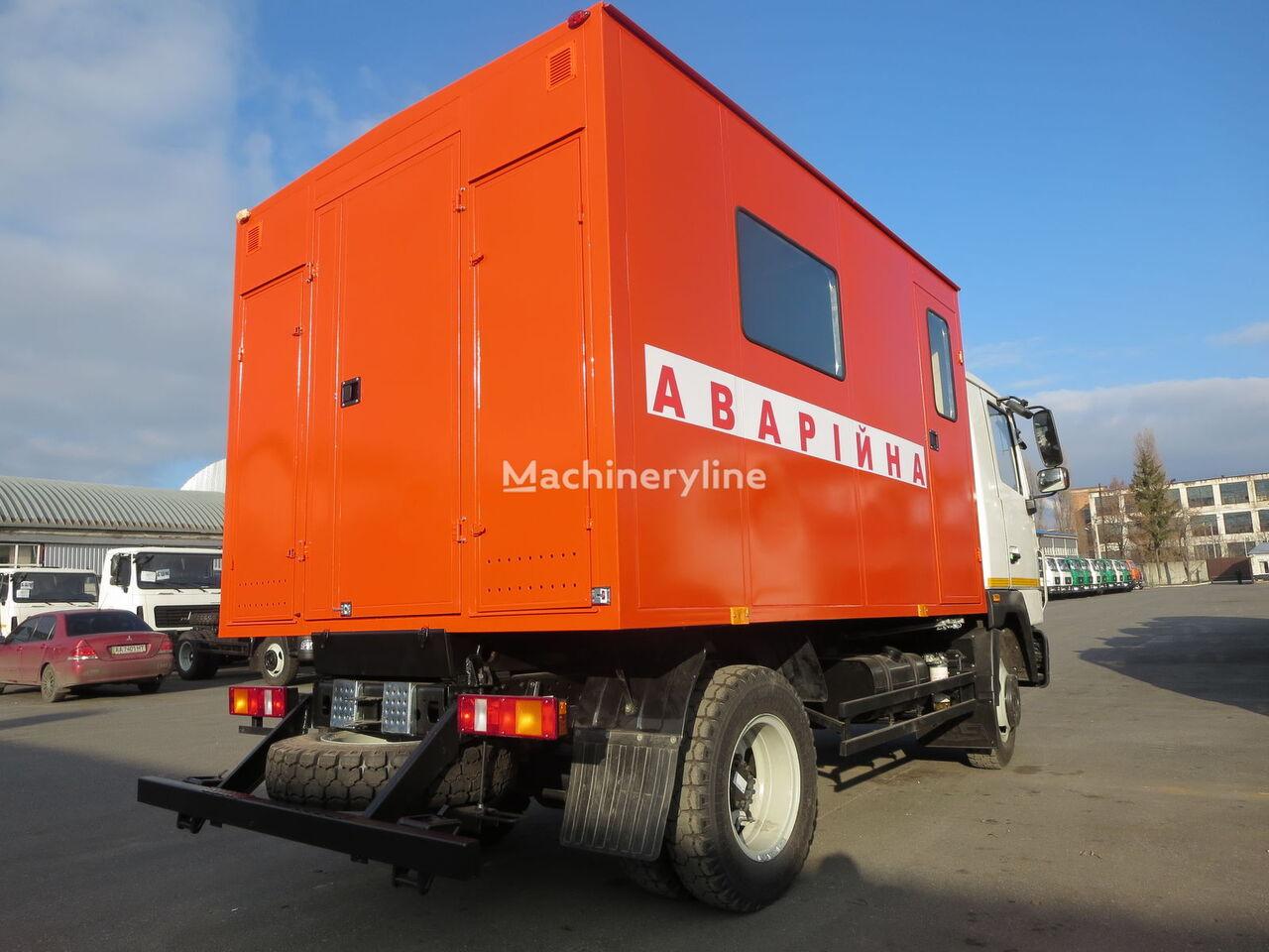 mashina avariyna ASAM MAZ-4371 other municipal vehicles