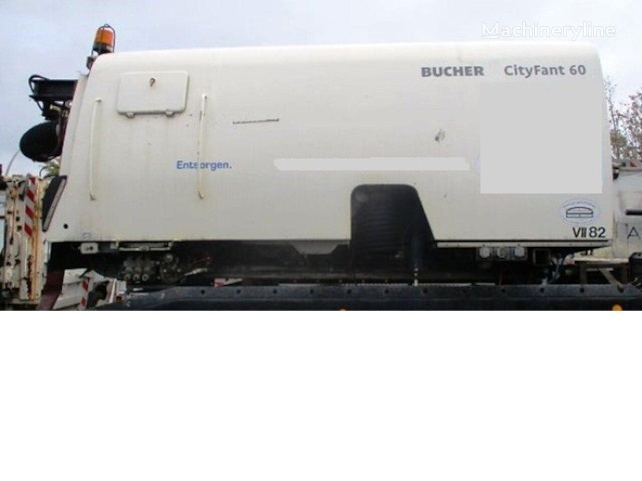 Aufbau Cityfant 60 mit HD-Pumpe road sweeper