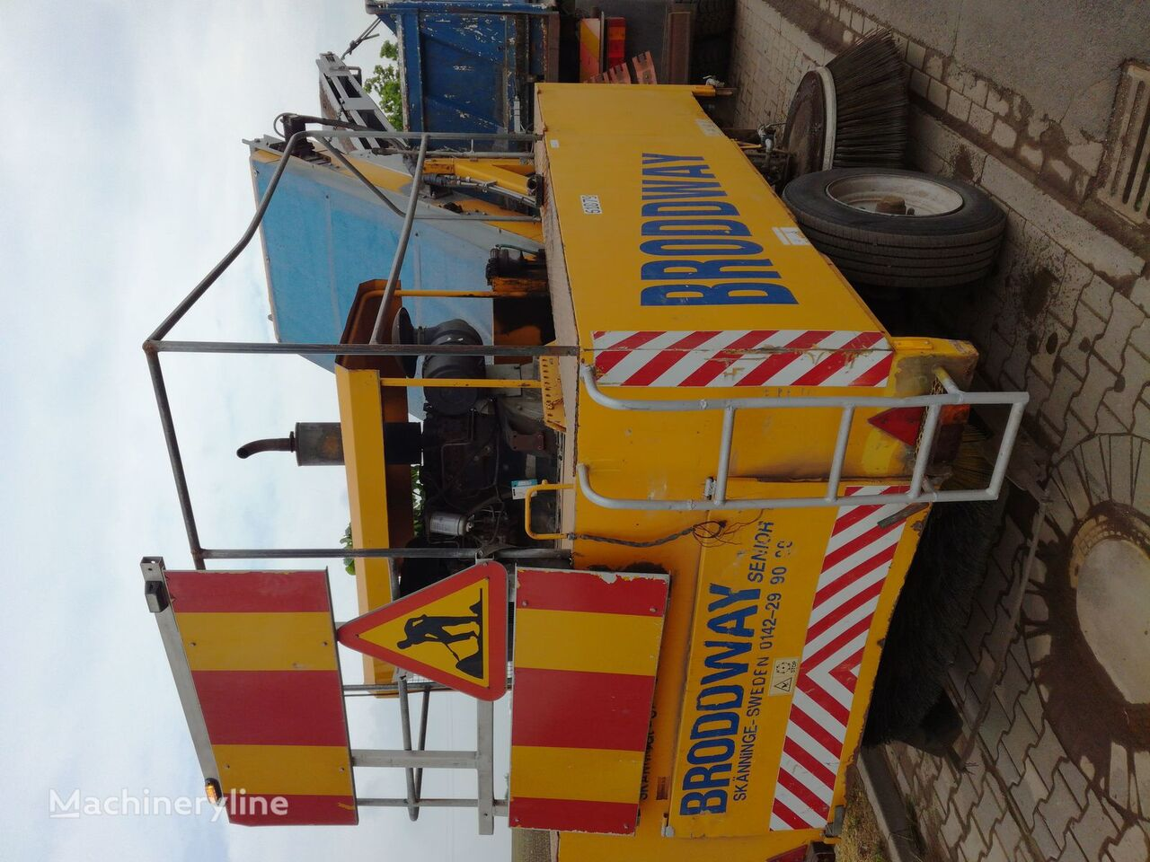 BRODDSON BRODDWAY SENIOR road sweeper