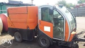 BUCHER CityCat 2020 road sweeper for parts