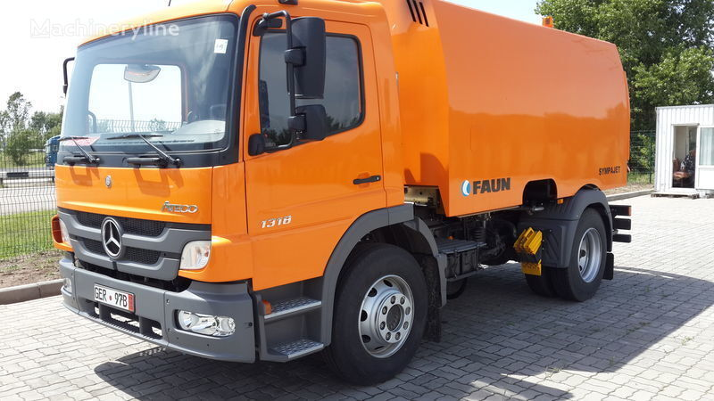 new FAUN VARZ-MV-1318-06 road sweeper