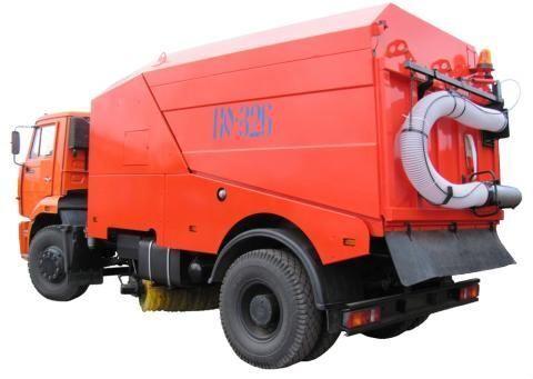 KAMAZ KO-326-02  road sweeper
