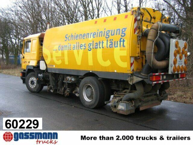 MAN T31 / 19.314 / Standheizung road sweeper