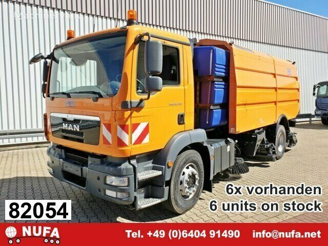 new MAN TGM 18 road sweeper