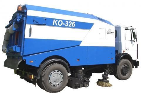 MAZ KO-326 road sweeper