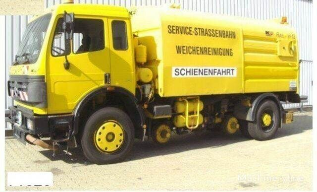 MERCEDES-BENZ SK 1820 4x2 Schienenreinigungs Kehrmaschine RAIL road sweeper