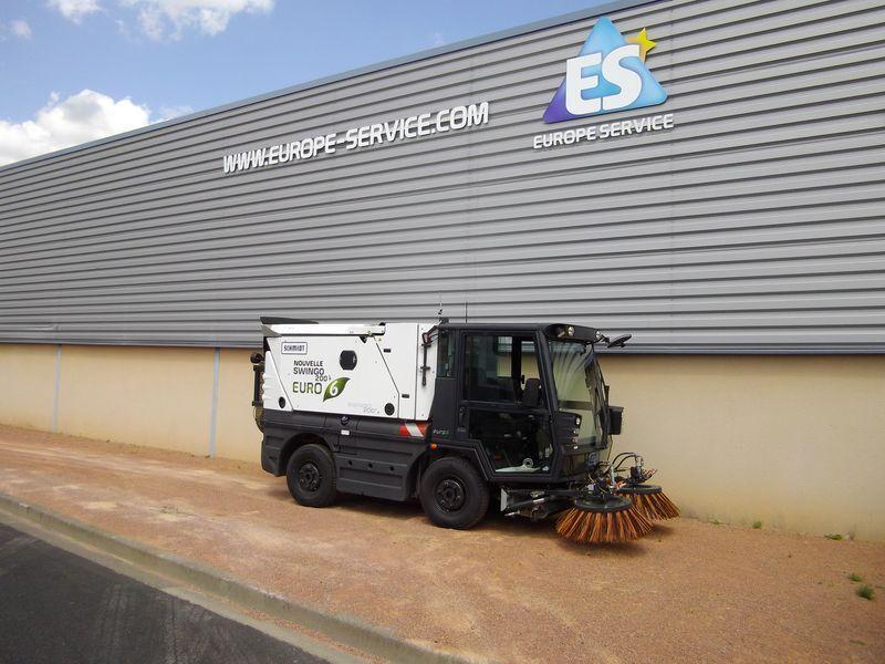SCHMIDT SWINGO 200+ BP  road sweeper