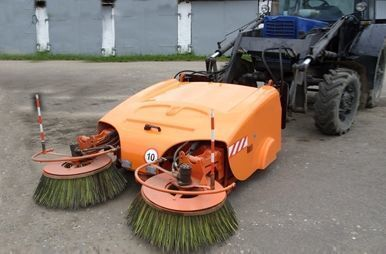 new BelDT 8002 road sweeper