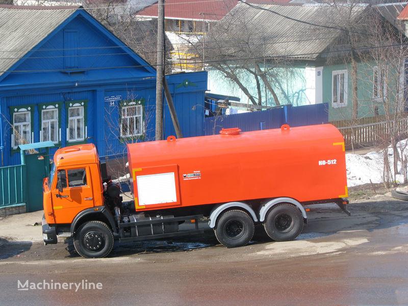 KAMAZ Kanalopromyvochnaya mashina KO-512 sewer jetter truck
