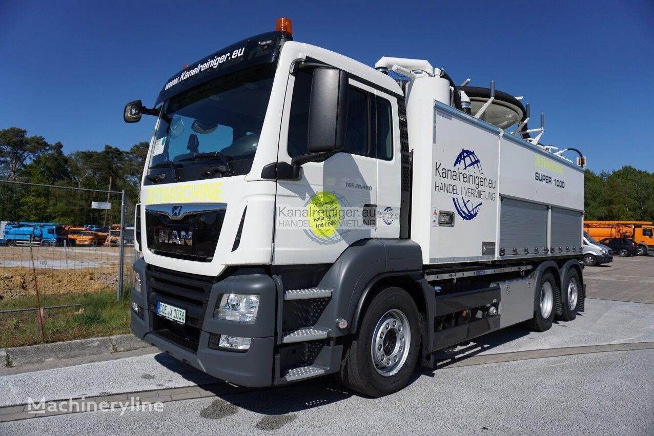 MAN KW3000 sewer jetter truck