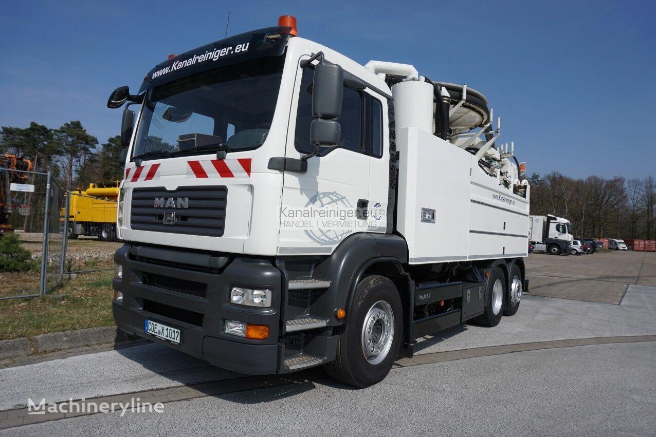 MAN TGA 26.410 sewer jetter truck