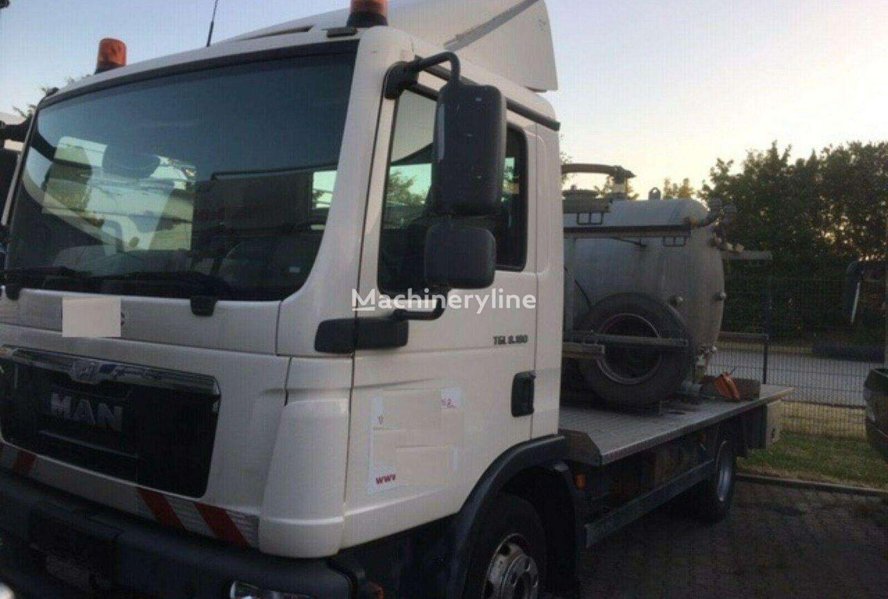 MAN TGL 8.180, sewage disposal trucks sewer jetter truck