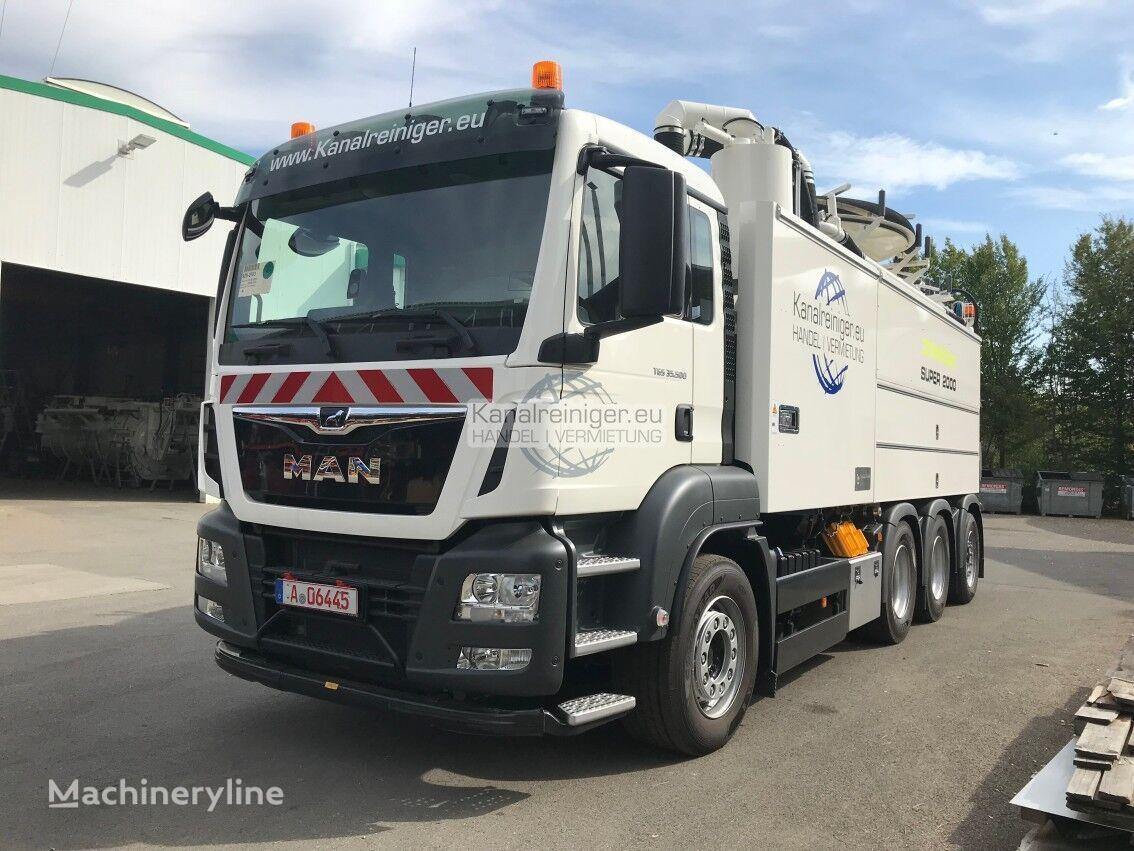 MAN Wiedemann & Reichhardt KW4000 sewer jetter truck