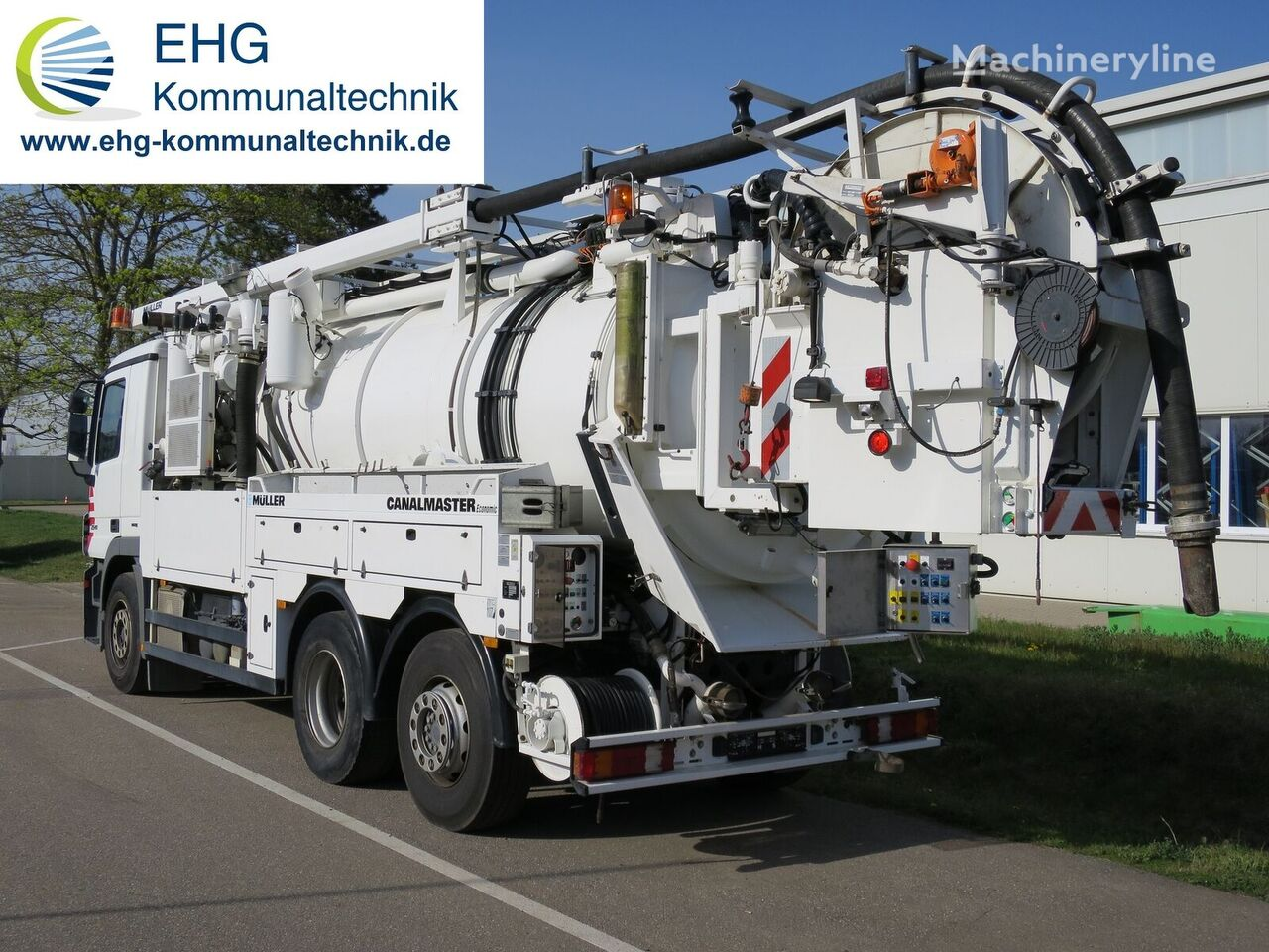 MERCEDES-BENZ Actros 2541  sewer jetter truck