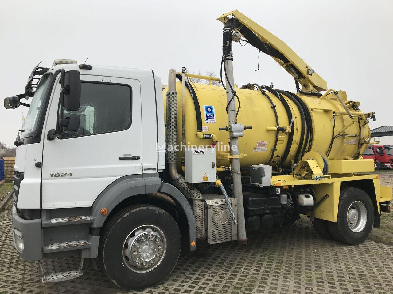 MERCEDES-BENZ Axor 1824 Saug und Druckwagen / Hochdruck / High Pressure Tanker sewer jetter truck