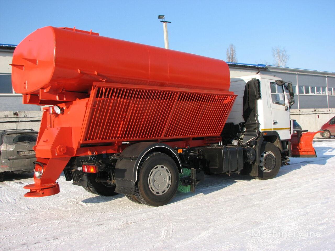 MAZ MDKZ-12 MAZ-5340C2 snow removal machine