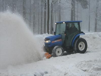 new ISEKI TG5390 AHL snowblower