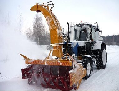 new MTZ OFR- 200  snowblower