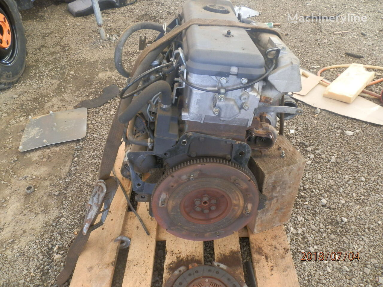 MULTICAR M 26 4x4 snowblower for parts