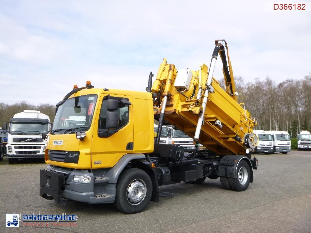 DAF LF 55.220 4x2 RHD Whale vacuum tank 7.5 m3 vacuum truck