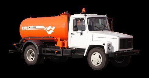 GAZ Vakuumnaya mashina KO-503V-2 vacuum truck