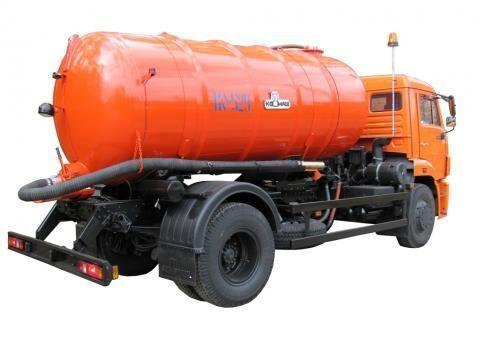 KAMAZ KO-529-13  vacuum truck