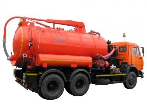 KAMAZ KO-530-01  vacuum truck