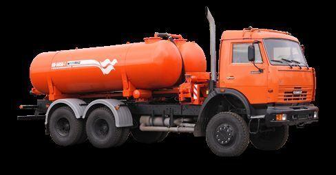 KAMAZ Vakuumnaya mashina KO-505A-1 vacuum truck