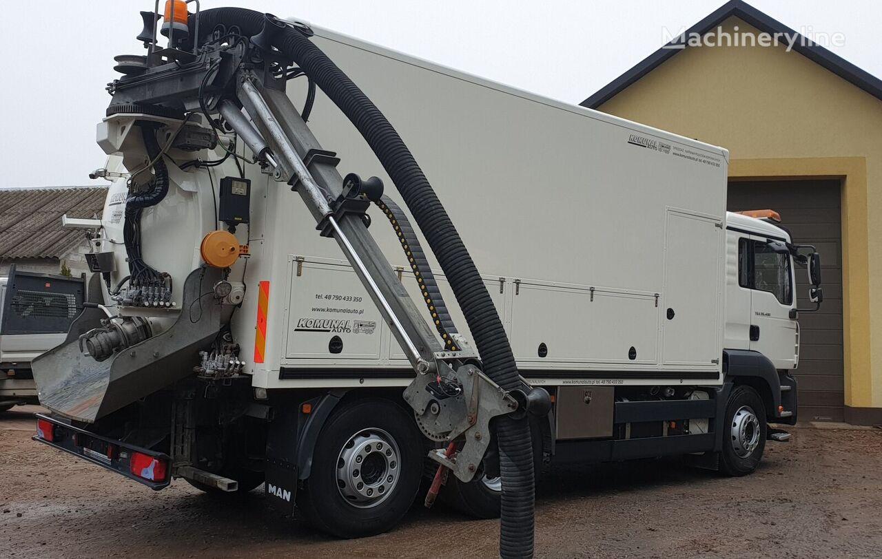 MAN FFG -20°C vacuum truck