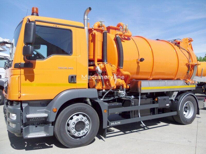MAN TGM 18.340 BL / Fabok CASv 9/1 vacuum truck
