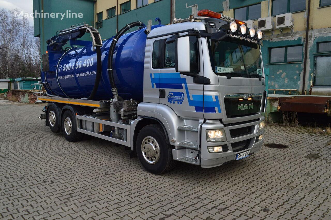 MAN TGS 26.440 aufbau 2019 EURO5 lenkachse 6x2 vacuum truck