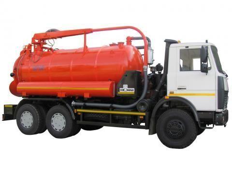 MAZ KO-530-05  vacuum truck