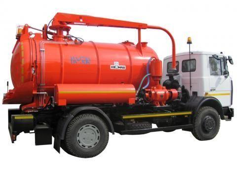 MAZ KO-530-21  vacuum truck