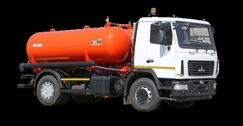 MAZ Vakuumnaya mashina KO-523 vacuum truck