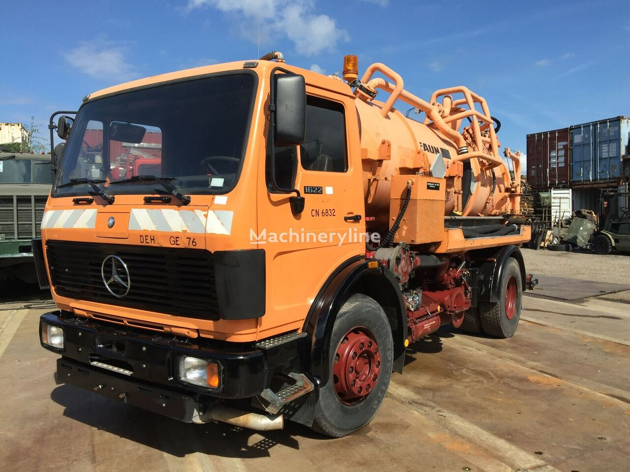 MERCEDES-BENZ 1622 Sludge vacuum truck
