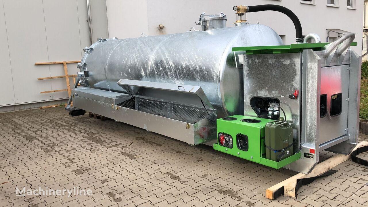 new S-Vac Abrollbehälter / Altro-Tec GbR vacuum truck