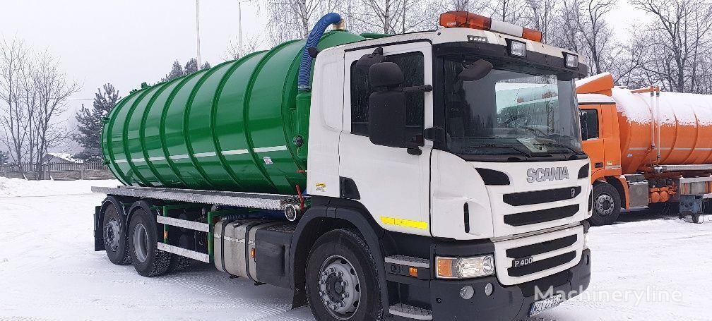 SCANIA P 400 vacuum truck