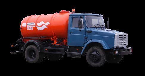 ZIL Vakuumnaya mashina KO-520 vacuum truck