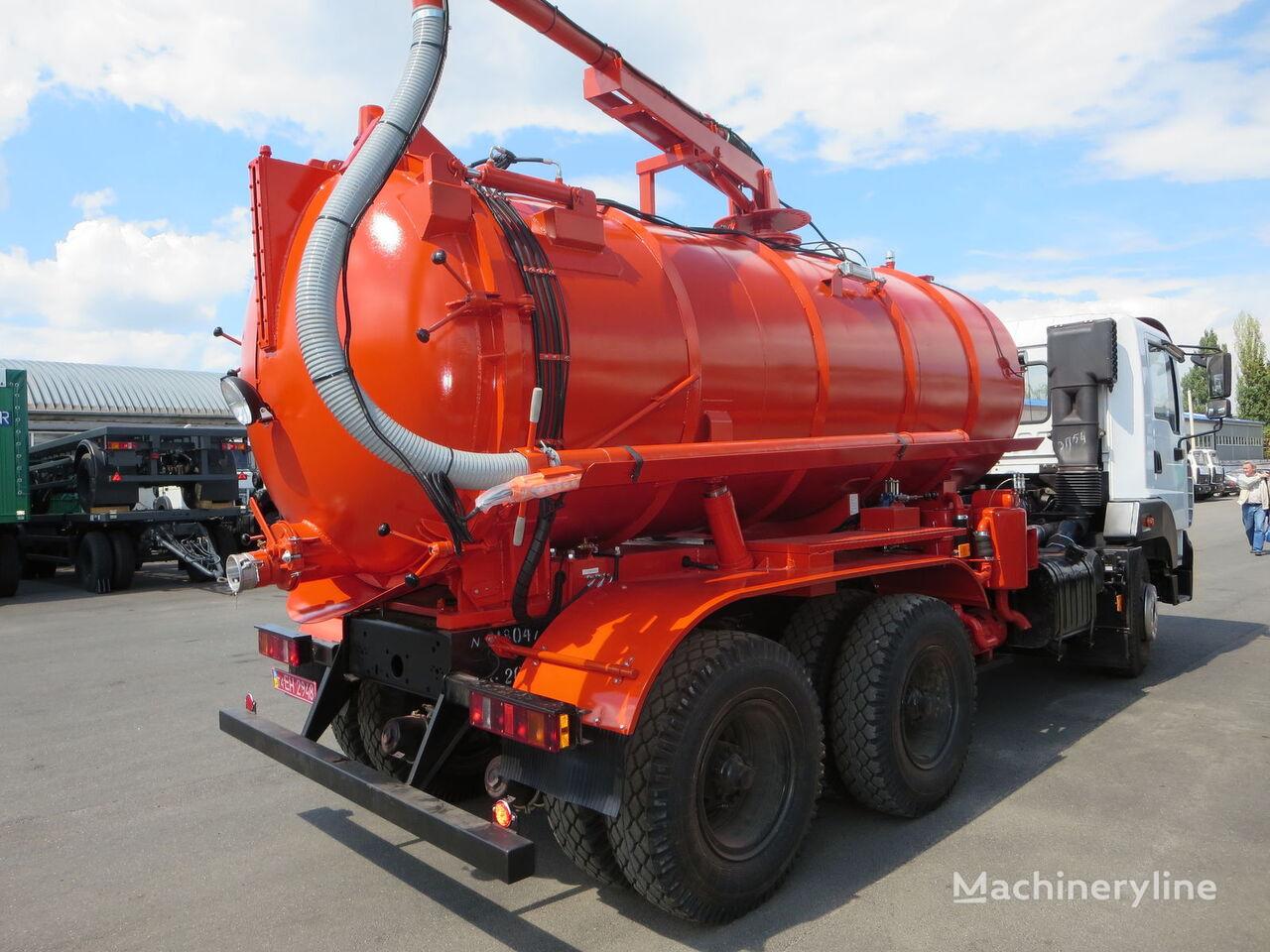 mashina ilososna KO-503IV-12 MAZ-5340C2 vacuum truck