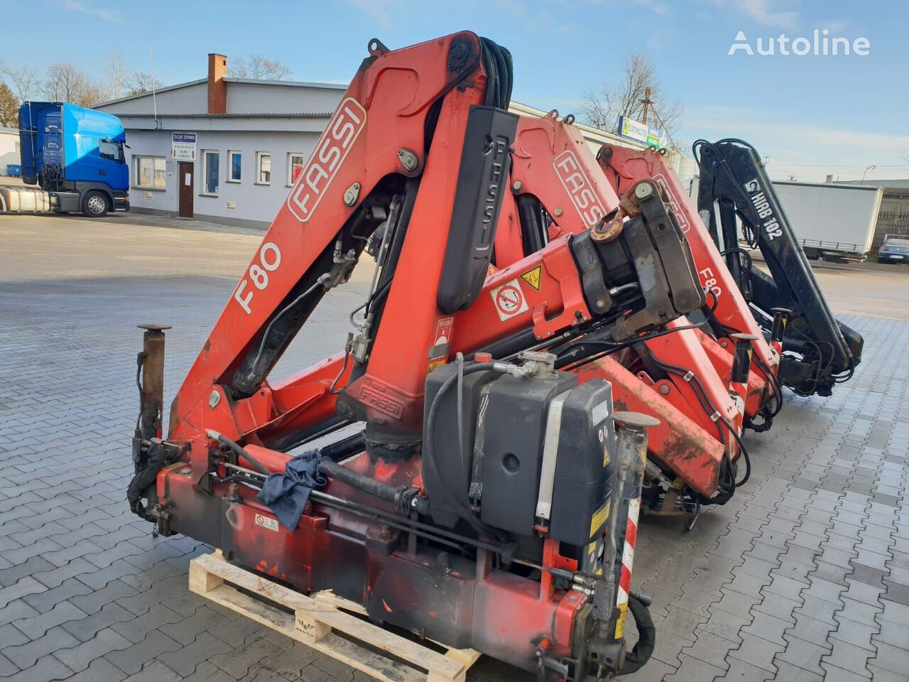 FASSI F80 other equipment