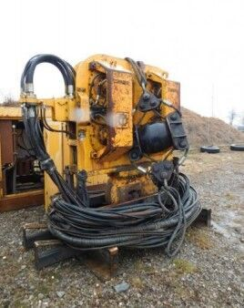 Hydraulic Vibration Driver  Tünkers HVB 100 VARIO with aggregate other equipment