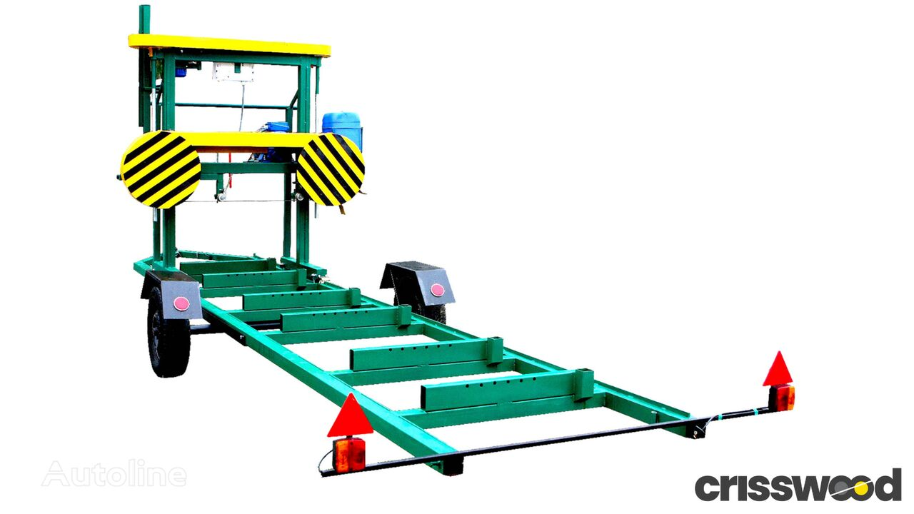 new Crisswood OCCASION! T SAM MK! EU Production Mobile Certificated Band Sawmi sawmill