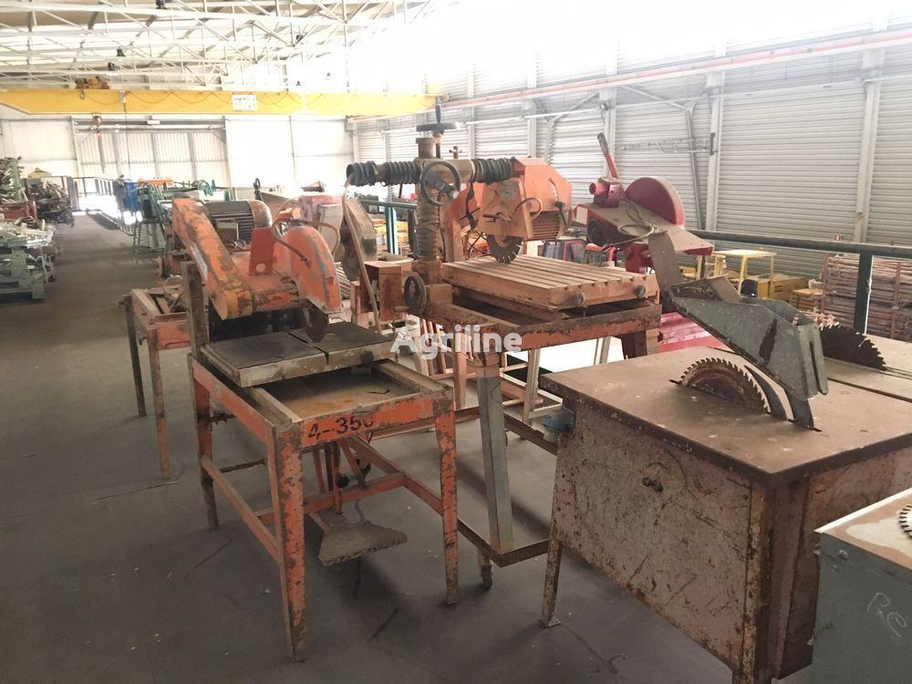 Seghe circolari da cantiere, per laterizio e per legno sawmill