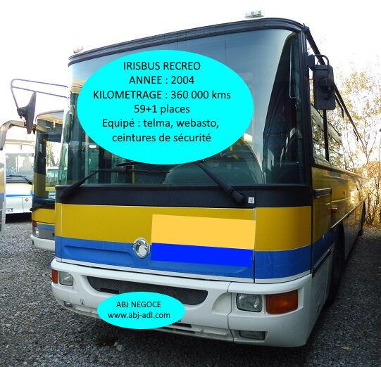 IRISBUS RECREO - 2004 school bus