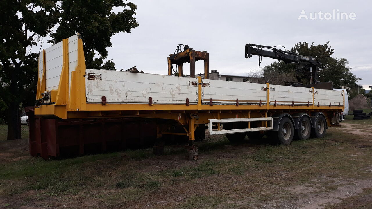 RENDERS CRANE IPJC TA3 belt semi-trailer