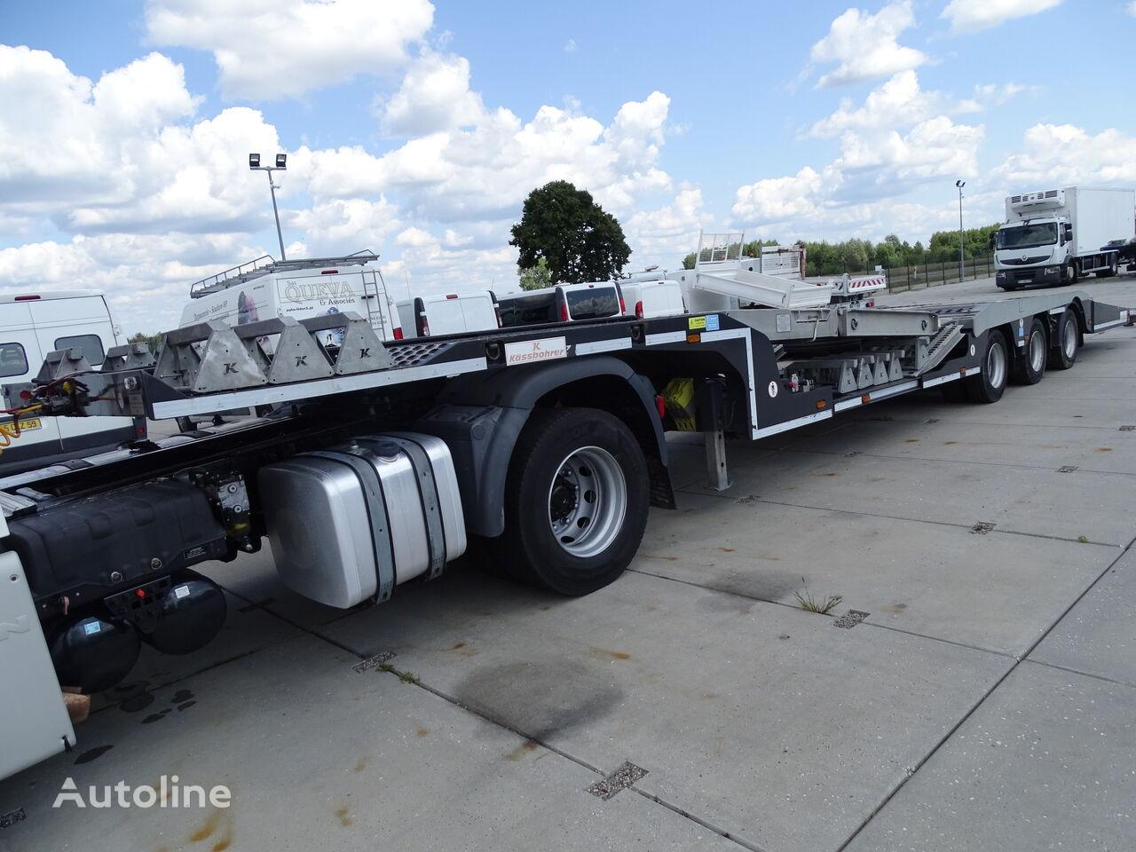 KASSBOHRER KASSBOHRER / 3 AXLE / NEW TRAILER / ONLY 50 000 KM / / / ! ! !  car transporter semi-trailer