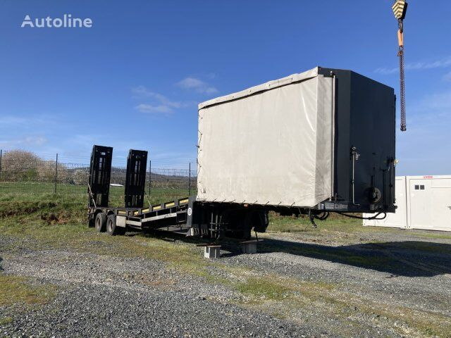 LANGENDORF Statue 20/25 T/A car transporter semi-trailer