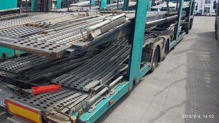 LOHR Eurolohr 1.21 (galvanised frame) car transporter semi-trailer