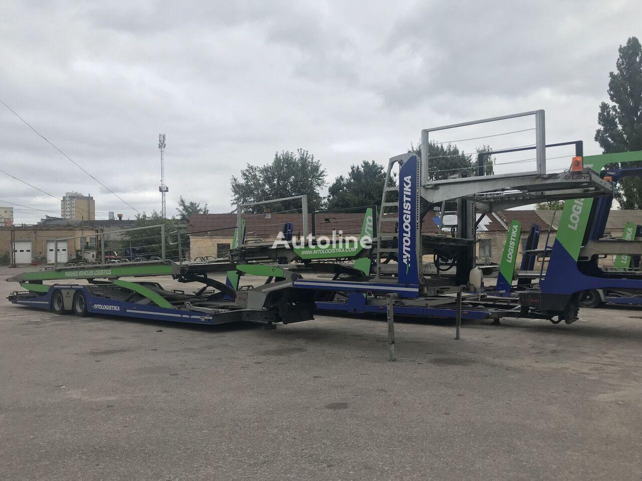 LOHR NEW EUROLOHR type 2.53 WXS for 9-11 cars car transporter semi-trailer